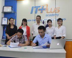 EcoIT ký kết hợp tác tiếp nhận sinh viên thực tập với ITPLUS Academy