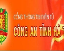 Giới thiệu nâng cấp Cổng thông tin điện tử Công an tỉnh Hà Tĩnh